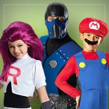 Spil & Computerspil kostumer